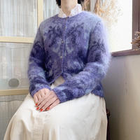 used mohair  cardigan