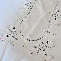 antique embroidery cloth