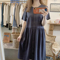 used cotton dot dress