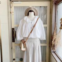 used euro white blouse