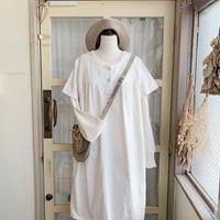 40s antique linen dress