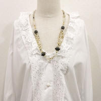 used stone necklace