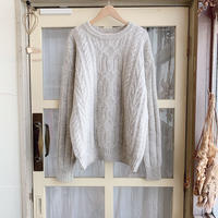 used cable sweater