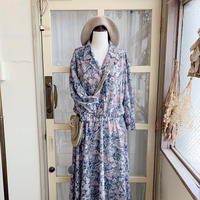 used 80s flower dress