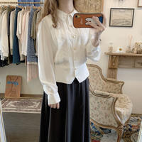 used euro white blouse