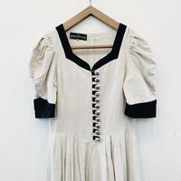 used linen dress