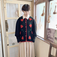 used fruits cardigan