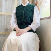 used knit vest