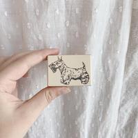 used handmade stamp