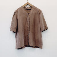 used silk blouse