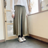used linen wide pants