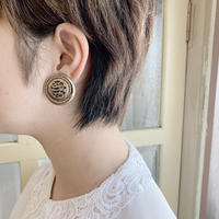 used silver earring