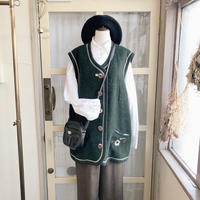 used embroidery vest