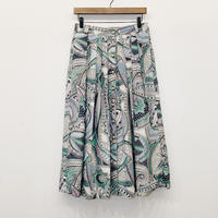 used paisly skirt