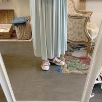 used euro rayon skirt