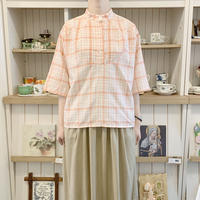 used check blouse