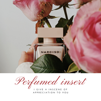 Made to order Perfumed insence(オリジナル文香)