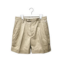 STANDARD SHORT TROUSERS / BEIGE