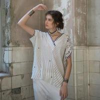 バッファロープリント KIMONOシャツ #1924923