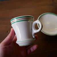 D. france antique Brulot cup フランスアンティーク ブリュロ