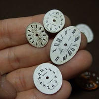 アンティーク婦人用時計文字盤 楕円形 a-1357