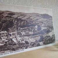 アンティークポストカード イギリス風景写真 c-50