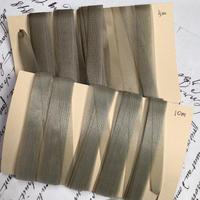 手染シルクリボン2色(計15m) 花材 f-1391