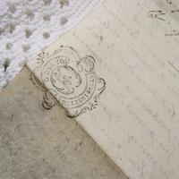フランス古文書 羊皮紙1786年製 c-256