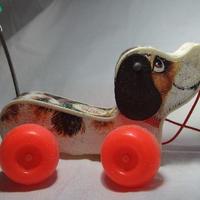 フィッシャプライス リトルスヌーピー犬 w-76