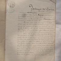 1855'sフランス古文書 c-265