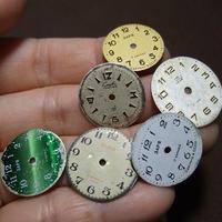 アンティーク時計文字盤 丸大2コ a-1359