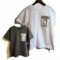 PASSIONE(パシオーネ)スケルトンポケットTシャツ(WOMENS)