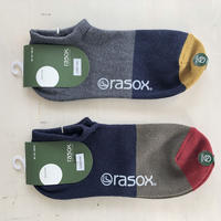 RASOX (ラソックス) コットンレネンスニーカーソックス CA191SN01
