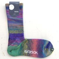 RASOX (ラソックス) グラデーションクルーソックス CA170CR01