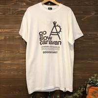 go slow caravan (ゴースローキャラバン) ロゴTEE メンズ