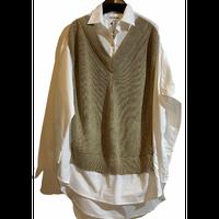 C.C.CROSS(シーシークロス)ニット切り替えシャツ (WOMENS)