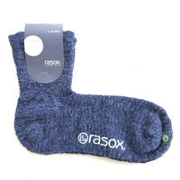 RASOX (ラソックス) ヤーンダイミッドソックス CA107LC01