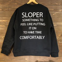 SLOPER(スローパー) スウェットプルオーバー メンズ
