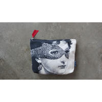 "Chase & Wonder washing bag  "" Lady in the mask"""