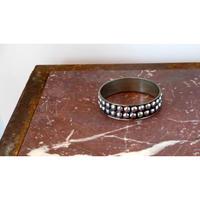 Vintage aluminum bangle