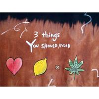 "💜BLEACH手描きTシャツ💜 ""3 Things"""