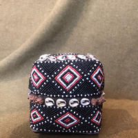 handmade small basket  インドネシア バリ島 EGOTRIP201