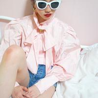 vintage tafta ribon blouse