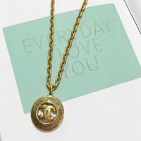 vintage CHANEL cocomark necklace