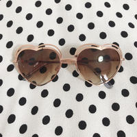 select heart sunglasses