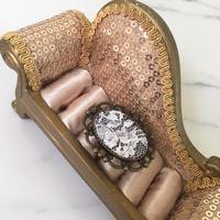 handmade lace design ring