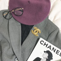 vintage  CHANEL coco mark brooch