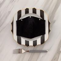 【再入荷受注❤︎ストーン3つ付】 handmade black lace mask