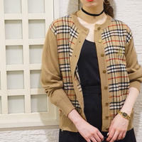 vintage BURBERRY SPORTS knit cardigan