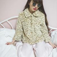 select leopard fur jacket